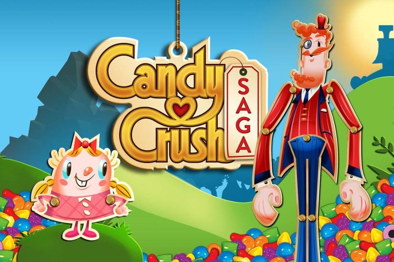 Game Mobile kẹo ngọt Candy Crush Saga