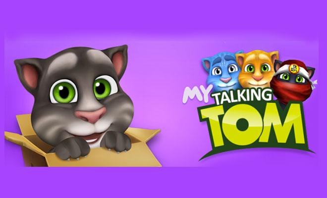 Game nuôi mèo - My Talking Tom