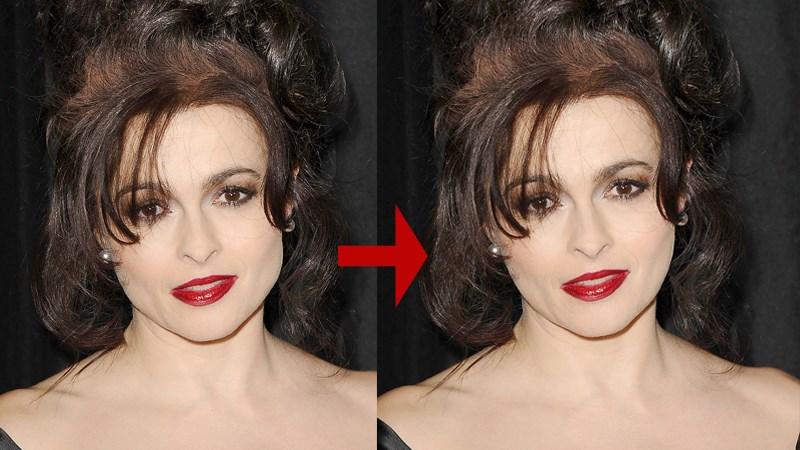 Sỡ hữu bức hình xinh đẹp với cách bóp mặt trong Photoshop