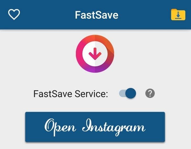Kích hoạt FastSave Service