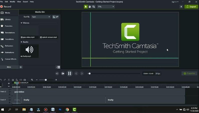Cấu hình yêu cầu để cài đặt phần mềm Camtasia 9