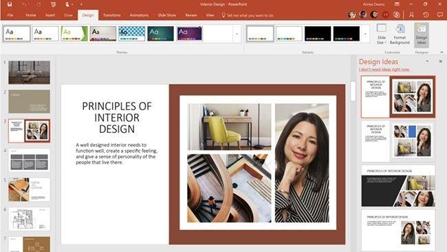 PowerPoint bổ sung nhiều hiệu ứng chuyển cảnh