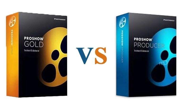 So sánh ProShow Producer và ProShow Gold