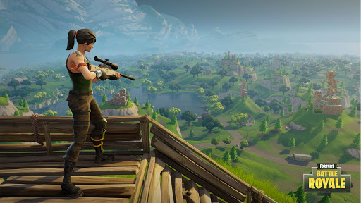 Game bắn súng sinh tồn online pc Fortnite