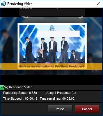 Hướng dẫn sử dụng proshow producer 9.0