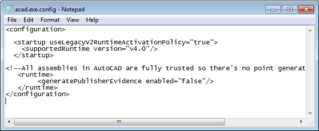 Khắc phục được lỗi không load được DLL trong Autocad