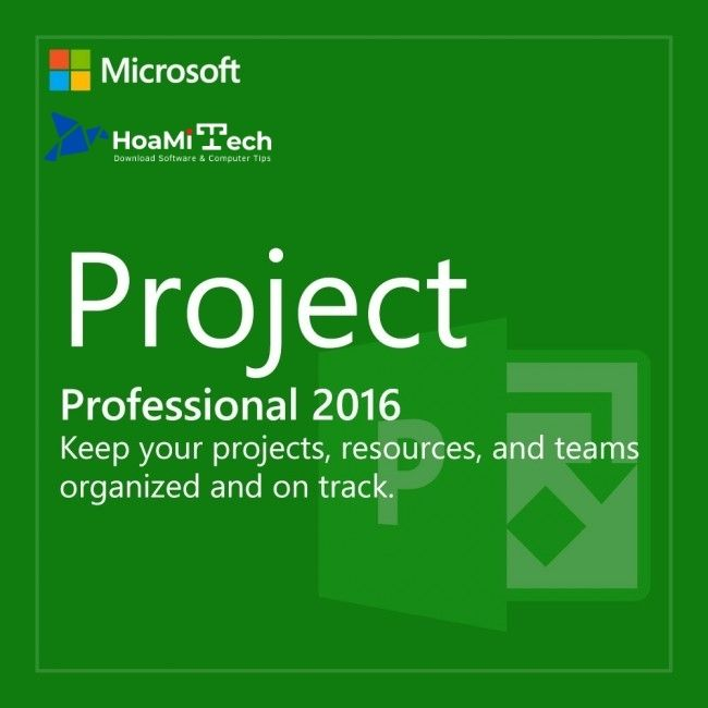 MS Project 2016 là gì?