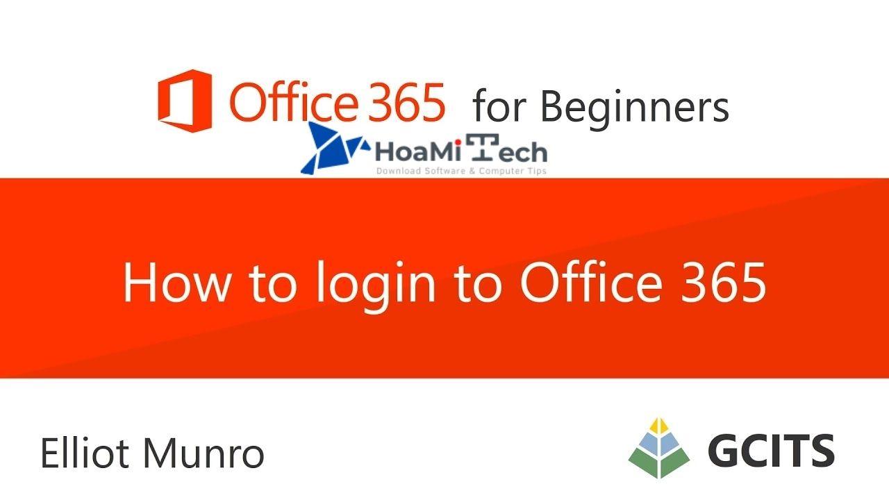 Tại sao cần phải đăng nhập Office 365, Login?