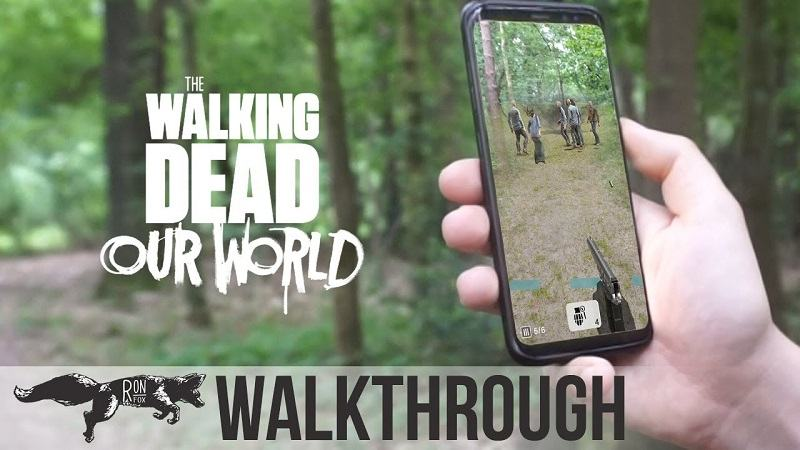 Game Zombie - The Walking Dead: Our World