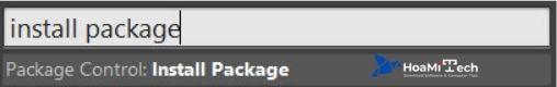 Tìm kiếm Package