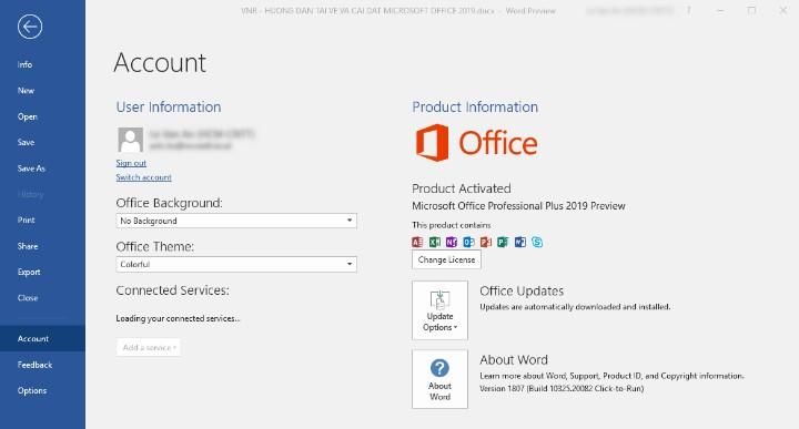 Yêu cầu hệ thống cài đặt Microsoft Project 2016 miễn phí