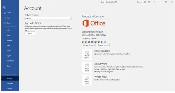 Kích hoạt bản quyền để sửa lỗi Unlicensed product Microsoft Office 2010