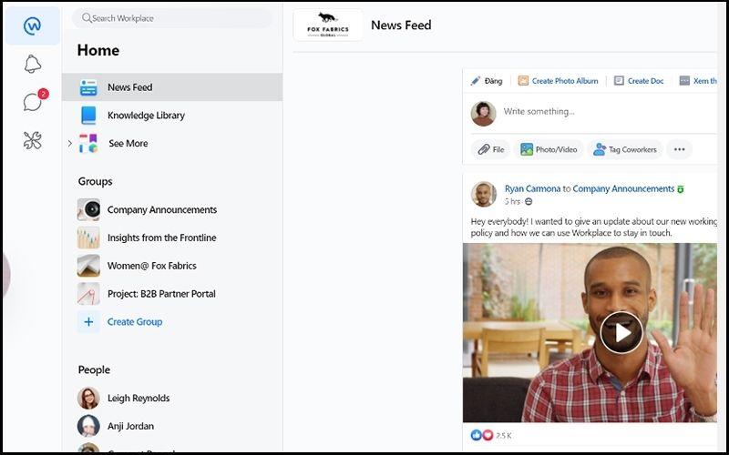 Bảng tin sẽ giúp bạn cập nhật những thông tin mới của tổ chức