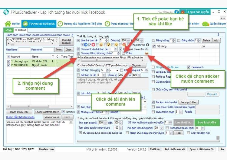 Các đặc điểm nổi bật của phần mềm Plus24h