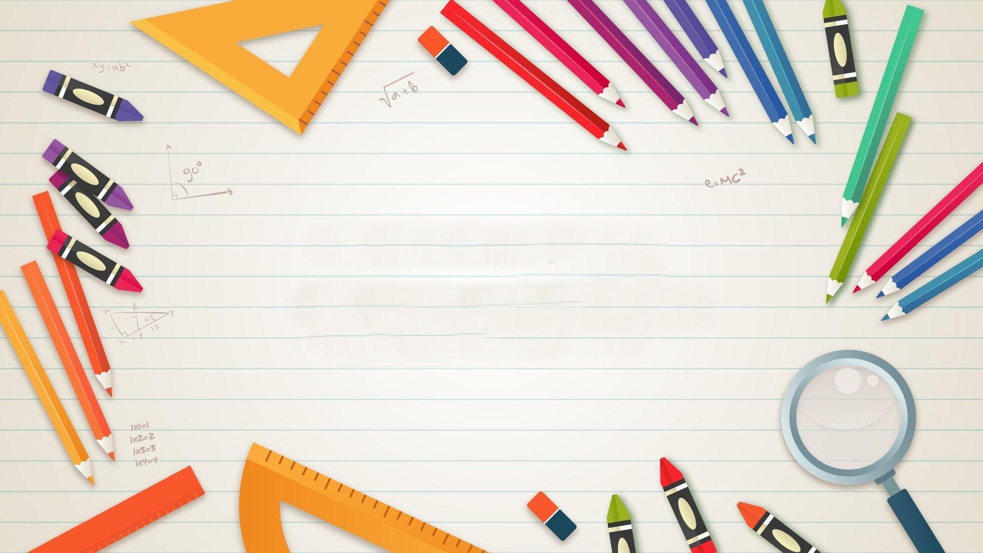 Ảnh nền cho powerpoint đơn giản tinh tế trong giáo dục