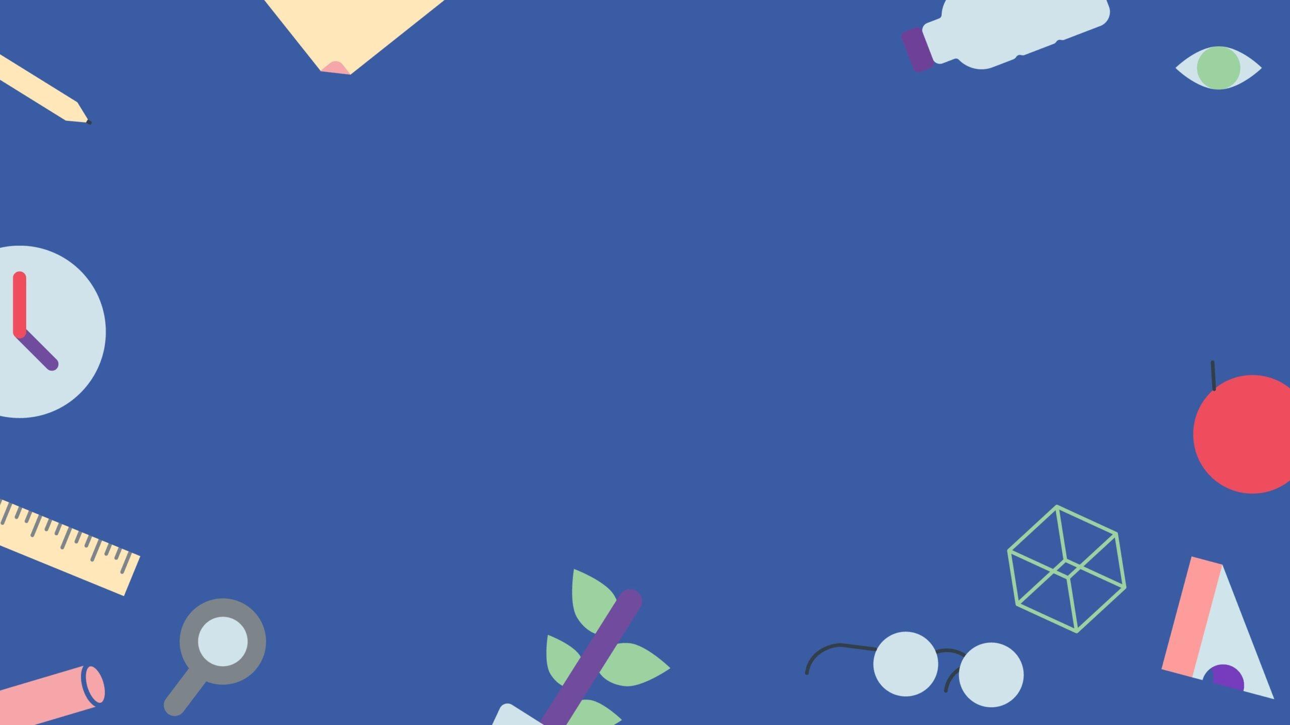 Powerpoint màu xanh dương