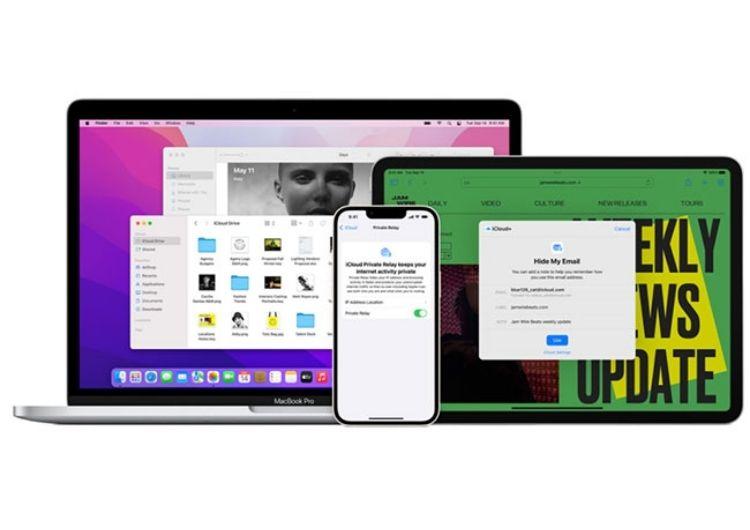 iCloud+ trên iOS 15