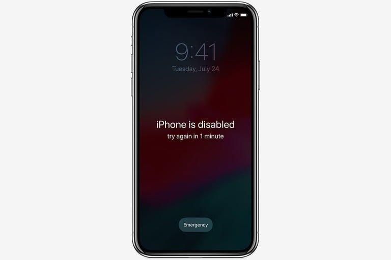 Lý do iPhone bị vô hiêu hoá?