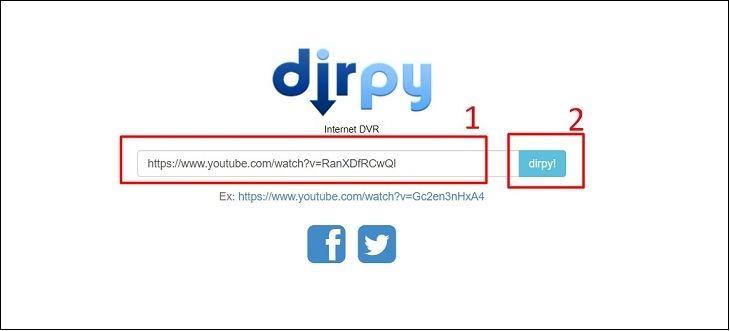 Cách tách nhạc từ video YouTube với Dirpy