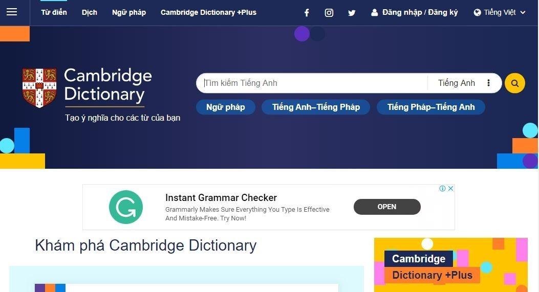 Lý do nên dùng từ điển Anh - Anh